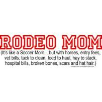 rodeo_mom_bumper_bumper_sticker
