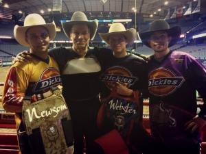 Frank Newsom, Mike Rowe, Cody Webster, Jesse Byrne