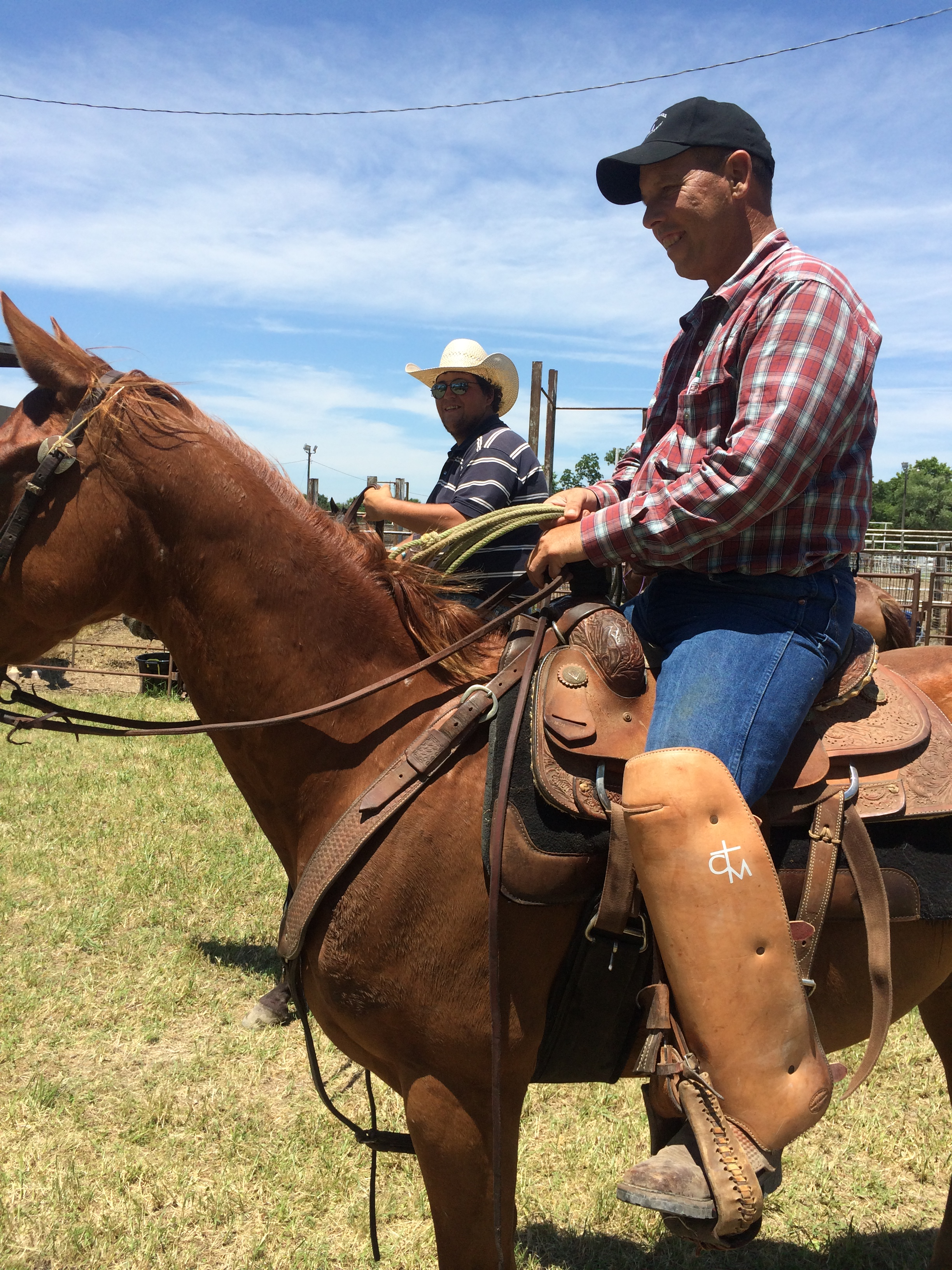 Hepler Rodeo Bible Camp There S A First Time For